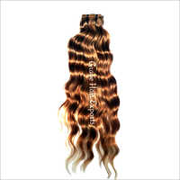 Deep Wavy Brown Hair Extension