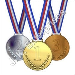Golden And Silver Army Custom Medal
