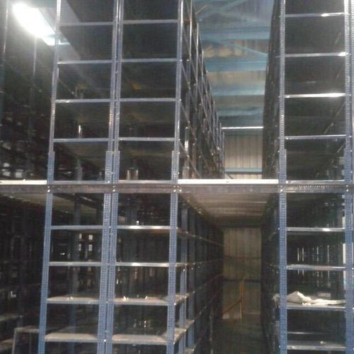 Two Tier Slotted Angle Rack