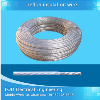 UL 1332 Ptfe Temperature Insulation Wire For Sensor