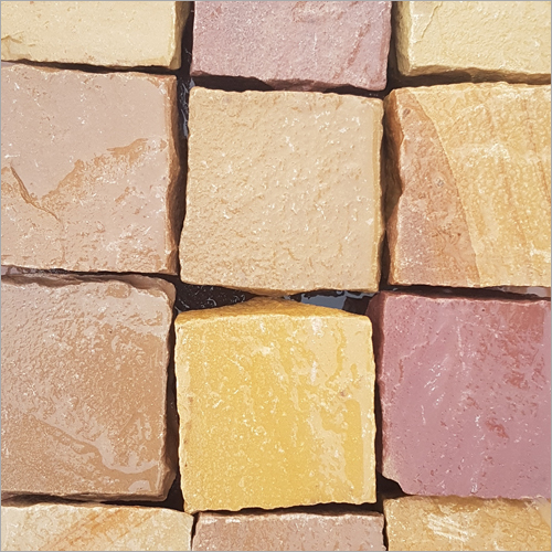 Multicolor Cobble Sandstone