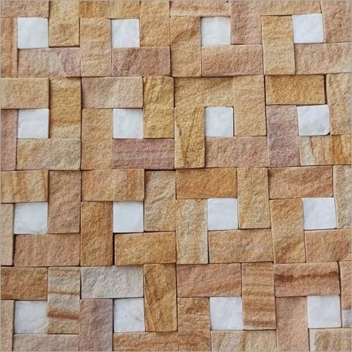 Yellow Mosaic Stone