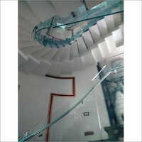 Bend Glass Railing