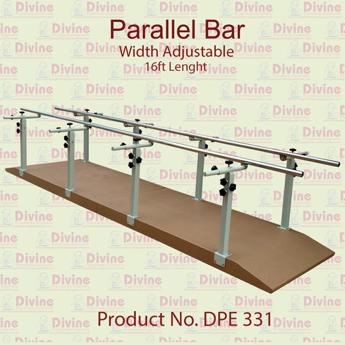 Parallel Bar Width Adjustable 16 ft Length