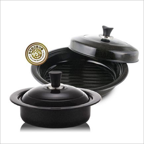 2 Piece Cast Iron Multi Purpose Pan Set