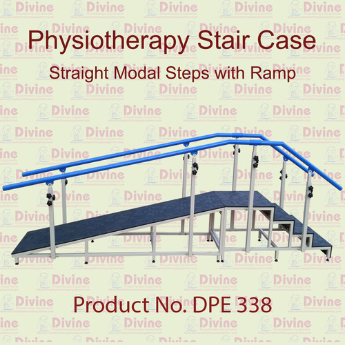 Physiotherapy Stair Case Straight Model With Ramp