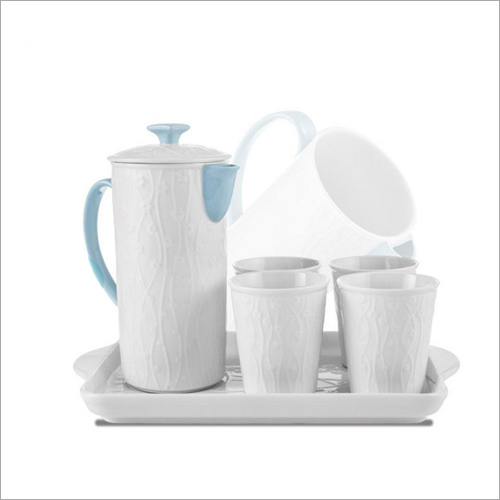 Jug and Water Glass Set