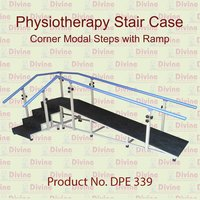 Physiotherapy Stair Case Corner Model with Ramp