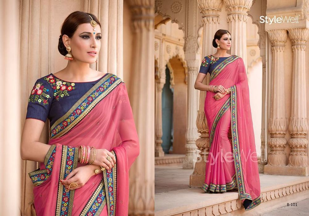 Latest Model Designer Sarees
