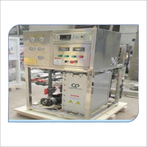 Electrodeionization Water Treatment Plant