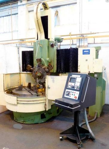 CNC VTL Machine Webster Bennett