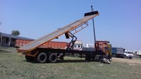 40 Feet Tipping Flatbed Trailer