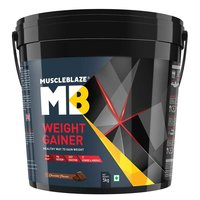 MuscleBlaze Weight Gainer with Added Digezyme, 11 lb(5kg) Chocolate