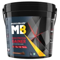 MuscleBlaze High Protein Lean Mass Gainer, 11 lb(5kg) Chocolate