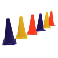 APG Marker Cones for Soccer Cricket Track and Field Sports (15-inch)