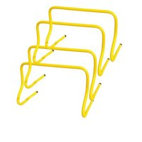 APG Bright Colourful & Offers High Visibility Strong PVC Agility Hurdles, Size: 6