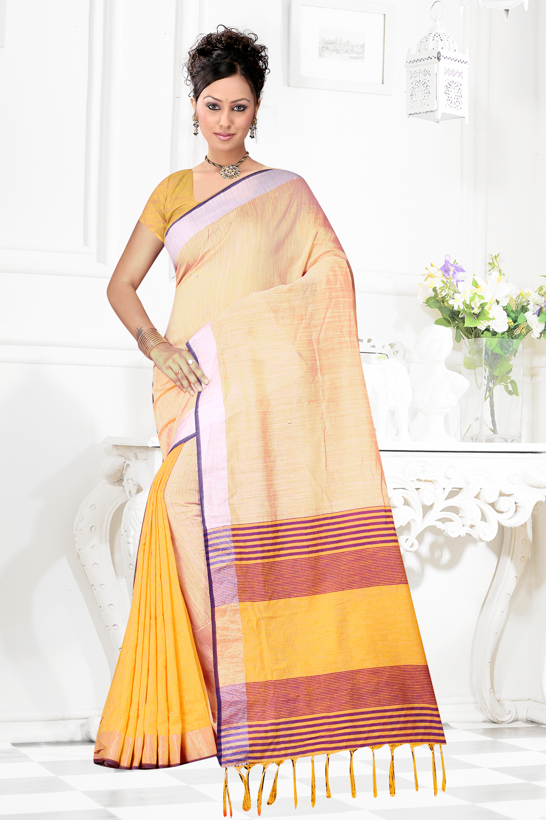 LADIES COTTON SAREES