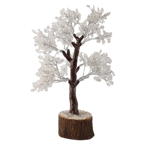 Natural Clear Quartz Tree For Peacefull Environment