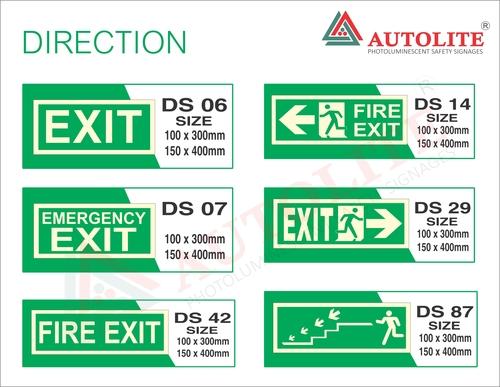 Direction Signages