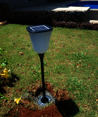 Solar Garden Light 1 WATT for outdoor