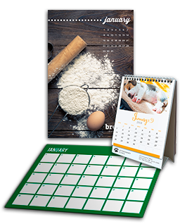 Personalized Gifts Wall Calendar