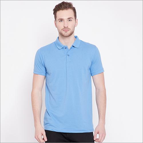 Mens Plain Polo T-Shirt