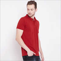 Mens Basic Polo T shirt