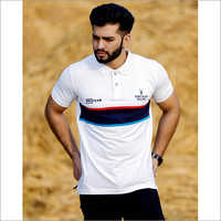 Mens Regular Fit collar T-Shirt