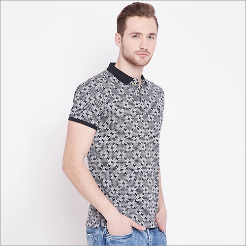 Mens Fancy Polo T-Shirt