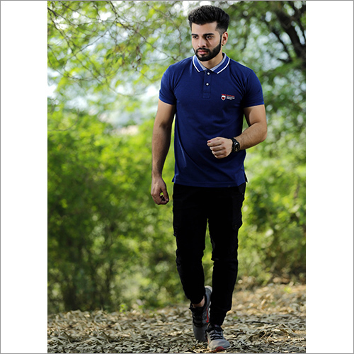 Mens Collar Polo T-Shirt