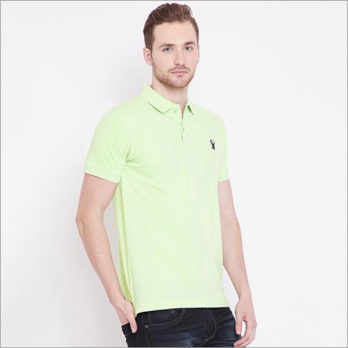 Mens Collar Polo T-Shirt
