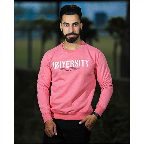 Mens Fancy Round Neck Sweatshirt