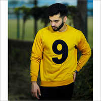 Mens Round Neck Casual Sweatshirt