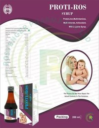 PROTEIN IRON MULTIVITAMINS MULTIMINERALS ANTIOXIDANT SYRUP