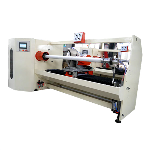 Micro Core Loader Slitter Machine