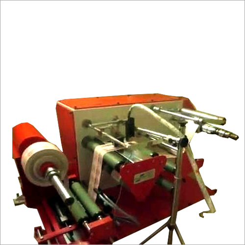 Table Top Doctoring Rewinder Machine