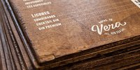 Wooden Hotel Menu Printing