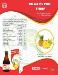 ENZYME SYRUP WITH B-COMPLEX
