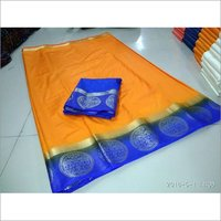 PLAIN  KANJIVARAM SILK SAREE