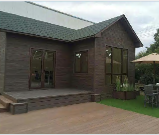 One of Hottest for WPC House Eco Cabin