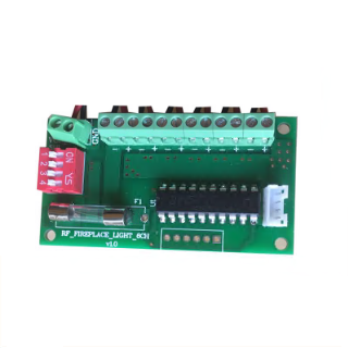 12V Output Fireplace Control Board With Remote Handset(Fr001)