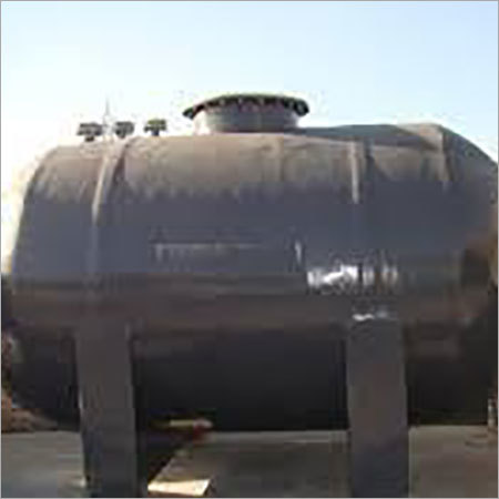 Polypropylene Black Horizontal Storage Tank
