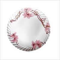Melamine Printed Round Plate