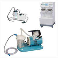 Suction Machines And Units