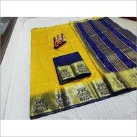 Tussar Silk Kanjivaram Saree