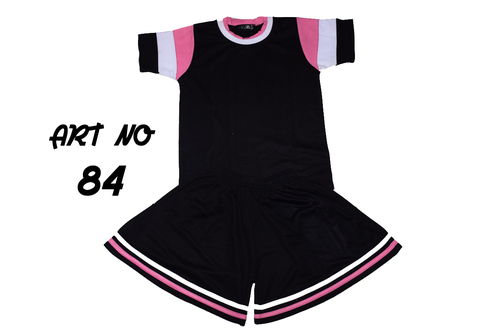 Kids School Uniform T Shirt Shorts