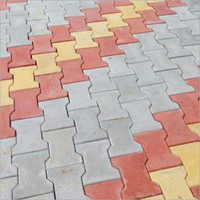 Grey Interlocking Paver Block