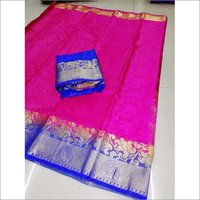 Women's Kanjivaram Butta Saree