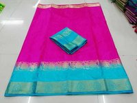 Butta Kanjhivaram Silk Saree