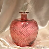 Apple Shape Glass Perfume Decanter